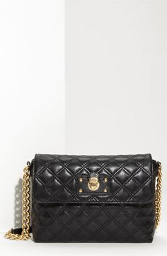 MARC JACOBS 'Quilting - Large Single' Leather Shoulder Bag available at #Nordstrom