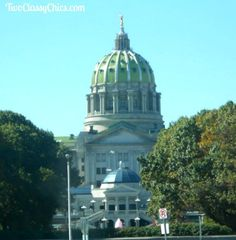 The Pennsylvania State Capitol Building in Harrisburg