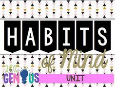 This Habits of Mind Unit has it all! Students will practice the following habits of mind in engaging activities that can be completed as a class or in stations! The habits of mind included in this unit are Responding with Wonderment & Awe; Creating, Imagining, & Innovating; Striving for
