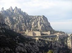 The sacred monastery on Montserrat, Spain Valentines Day Date, November 2013, Spain Travel, Swift, Amazing, Awesome, Jesus Christ, Places Ive Been, Breathe