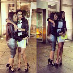 Cyn Santana & Erica Mena sexy ladies!