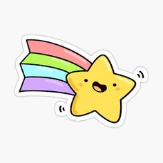 Buy Stickers, Unicorn Stickers, Printable Stickers, Cute Easy Drawings, Cute Little Drawings, Kawaii Doodles, Cute Doodles, Angel Wings Wall Art, Unicorn Drawing