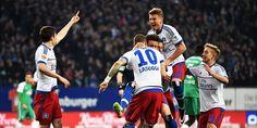 HSV – Werder 2:1 Derby-Sieg! Jubel nach dem 1:0 gegen Werder ; ... nur der HSV !! carsten