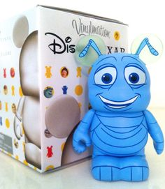 "DISNEY VINYLMATION 3"" PIXAR 1 FLIK A BUG'S LIFE ANT PARK MICKEY MOUSE TOY FIGURE in Collectibles, Disneyana, Contemporary (1968-Now) 