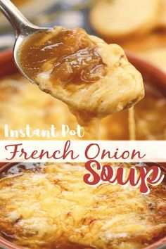 #Instant #pot #soup #carmelizedonions Instant Pot French Onion Soupbrp classfirstletterThe better current website sharing about carmelizedonionspInstant Pot French Onion Soup pins are as aesthetic and useful as you can use them for decorative purposes at any time and add them to your web page or profile at any time If you want to find pins about Instant Pot French Onion Soup the posts on my profile will be very useful for you blockquoteThe pins in my profile are prepared in relation to the… Yummy Recipes, Easy Soup Recipes, Crockpot Recipes, Barbecue Recipes, Barbecue Sauce, Grilling Recipes, Best Food Recipes, Easy Instapot Recipes, Healthy Recipes