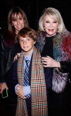 Melissa's son Cooper & mother Joan
