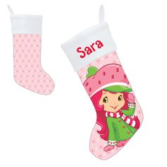 Strawberry Shortcake Berry Merry Stocking from Ty's Toy Box
