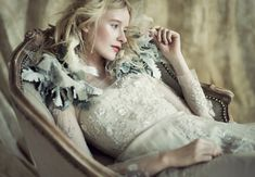 'Natural Beauty'. Art Direction & Styling Jamie Beck & Kevin Burg. Gowns by Reem Acra