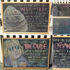 """Los Angeles #Restaurant Discounts Customers Who Order in the Voice of Iconic #Characters """"Not a Burger Stand features offers on its changing chalkboard for those good at impressions"""" vía @psfk"""