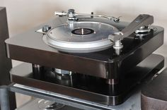 Golden Age Of Audio: Professional Turntable Commonwealth Electronics 12D