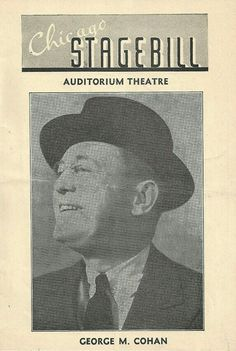 "Theatre Programme from the Premiere Chicago Production of the Richard Rodgers / Lorenz Hart musical ""I'd Rather be Right,"" which performed from November 21 thru December 17, 1938 at the Auditorium Theatre.  George M. Cohan starred in the production as Franklin D. Roosevelt."