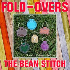 FoldOvers - SIX Designs included!!!