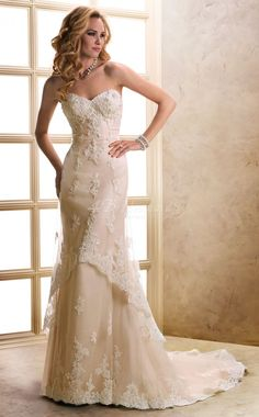 country lace wedding dress - Google Search