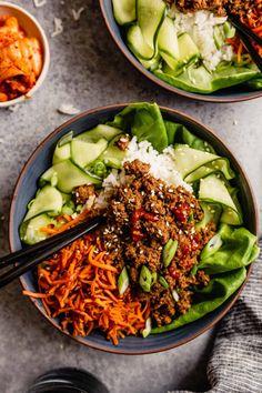 Bulgogi Marinade, Bulgogi Sauce, Ground Beef Bulgogi Recipe, Ground Beef Recipes, Honey Recipes, Asian Recipes, Healthy Recipes, Healthy Meals, Easy Recipes