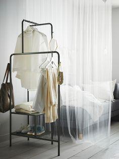 Clothes Stand, Clothes Rail, Hanging Clothes, Wardrobe Organisation, Wardrobe Storage, Wardrobe Rack, Organization, Malm, Catalogue Ikea