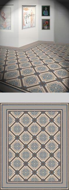 Küchen Tapete Landhaus Fliesen Ornamente Mandala Shades of GREY - fliesen tapete küche