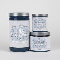 Heritage Collection All In One Chalk Style Paint Color: Polo (Dark Navy)