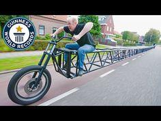 La Bicicleta Más Larga del Mundo   yalosabes