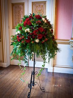 red roses pedestal - Google Search