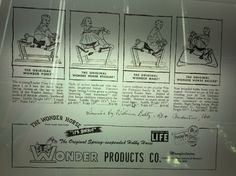 Advertisement for the Wonder Horse invented in Pocahontas, Arkansas.