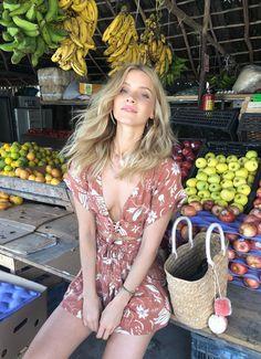 Boho Passport  x Cleobella - fruit stand Tulum