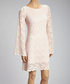 Turn style up a notch and slip into a sassy lace dress. Something easy and breezy is the best way to go when creating an amazing ensemble.Measurements (size S): 36'' long from high point of shoulder to hem100% polyesterHand wash; hang dryMade in the USA