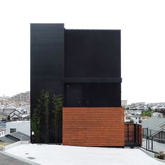 House with balcony outlook