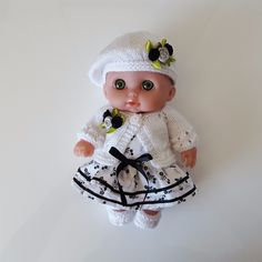 """Handmade Baby Dolls Clothes for 8.5"""" Lil' Cutesie BERENGUER doll"""