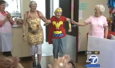 103-Year-Old Celebrates Birthday As Wonder Woman, Is Our New Hero