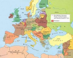 Europe_1923.jpg (1017×808)Map of Europe after the Treaty of Versailles. The Treat of Versailles was signed on June 28, 1919. The treaty created nine new nations which included Czechoslovakia, Poland, and Yugoslavia. Under the treaty the Central Powers also had to surrender control of their colonies to the Allies