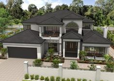 Features the La Escandella Collection, Visum range of clay roof tiles. Concrete Roof Tiles, Clay Roof Tiles, Brick House Plans, Buying A New Home, Exterior Colors, Black House, Fixer Upper, Brisbane, House Colors