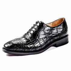 Men's Classic Modern Genuine Alligator Skin Cap-Toe Oxford S.- Men's Classic Modern Genuine Alligator Skin Cap-Toe Oxford Shoes Mens Classic Modern Genuine Alligator Skin Cap-Toe Oxford Shoes - Alligator Boots, Business Dress, Gentleman Shoes, Mens Boots Fashion, Jeans Fashion, Fashion Outfits, Handmade Leather Shoes, Men S Shoes, Male Shoes