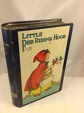 red riding hood tin book