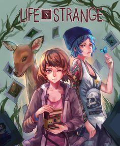 無題 - More at https://pinterest.com/supergirlsart/ Life is Strange…