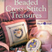 Beaded Cross-Stitch Treasures from Mill Hill Designs Beaded Cross Stitch, Crochet Cross, Irish Crochet, Cross Stitch Patterns, Cross Stitch Magazines, Cross Stitch Books, Embroidery Techniques, Book Crafts, Craft Books