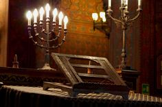 Synagogue of Florence and Museum of Hebraic art and culture - Florence. Алтарь.