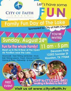 Sunday School Invitation Flyer Fresh Join City Of Faith Church for A Family Fun Day Call Us to Microsoft Word Resume Template, Student Resume Template, Real Estate Flyer Template, Free Flyer Templates, Invitation Flyer, Invitations, School Template, Real Estate Ads, Faith Church