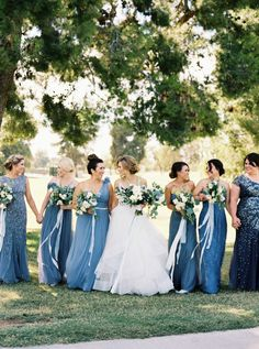Photography : Mariel Hannah | Wedding Dress : Lazaro By Jim Helm | Floral Design : House Of Flowers Read More on SMP: http://www.stylemepretty.com/2016/11/09/something-blue-california-wedding/