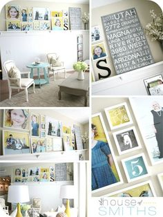 How to Decorate Series {day 1}: Gallery Wall Tips by House of Smiths - Home Stories A to Z