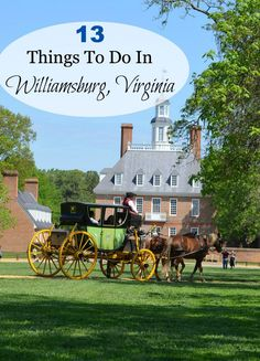 You've probably read about Williamsburg, VA in history books.  It's the largest living history museum in the United States.  Read my top 13 things to do in Williamsburg before planning your next trip.
