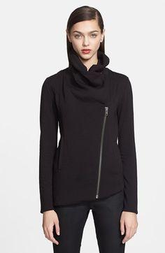 Helmut Lang 'Villous' Zip Front Sweatshirt available at #Nordstrom