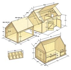 Valuable toys: Here comes the instructions for the nostalgia farm - It is the children who determine classic toys, not the adults. And strangely enough, these children - Wooden Toy Barn, Wooden Diy, Toy Horse Stable, Kids Barn, Carton Diy, Farm Toys, Barn Plans, Kids Wood, Diy Dollhouse