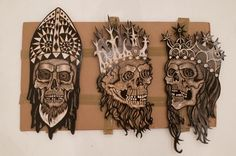 """DENNIS MCNETT """"TEMPLE OF THE WOLFBAT"""" @ KNOWN GALLERY, LOS ANGELES"""