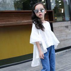 $19.00 (Buy here: https://alitems.com/g/1e8d114494ebda23ff8b16525dc3e8/?i=5&ulp=https%3A%2F%2Fwww.aliexpress.com%2Fitem%2FBig-Girls-Dresses-White-Casual-Children-s-Kids-Clothes-Cotton-Dresses-For-Girls%2F32666808729.html ) Big Girls Dresses Summer Clothes for Teen Girls Baby Kids  Designs Clothing Girl Children's For Age 5 6 7 8 9 10 11 12 13 14T for just $19.00