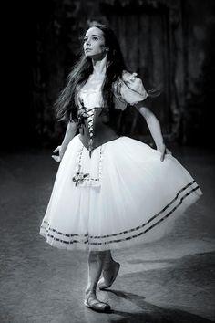 Diana Vishneva as Giselle in Act 1 of the Mariinsky Ballet's Giselle. Photo by Sasha Gouliaev