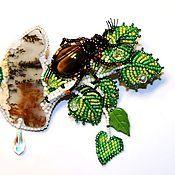Магазин мастера Тюрина Любовь  брошки-миниатюры: броши, кулоны, подвески, заколки, кольца