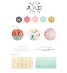 Colors, patterns, fonts sea foam instead of mint Wedding Themes, Wedding Colors, Wedding Events, Our Wedding, Wedding Decorations, Shower Inspiration, Color Inspiration, Wedding Inspiration, Wedding Branding
