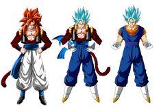 Gogeta And Vegito, Son Goku, Anime Artwork, Dbz, Dragon Ball Z, Awesome Stuff, Nova, Princess Zelda, Pasta
