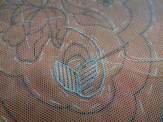 Puntades: Bordado en tul