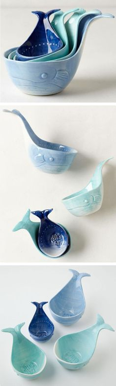 Whale Tail Measuring Cups ❤︎ SO cUte!                                                                                                                                                                                 More